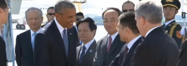 चीनले अपमान गरेको ओबामाको आरोप, अपमानपछि यस्तो देखिन्थ्यो उनको अनुहार ! (भिडियोसहित)