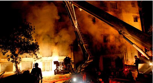 भारतको उडिसा राज्यको एक अस्पतालमा भीषण आगलागी, २३ जना बिरामीको मृत्यु