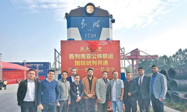 चीनबाट काठमाण्डौका लागि गुडेको रेल ल्हासा आइपुग्यो !
