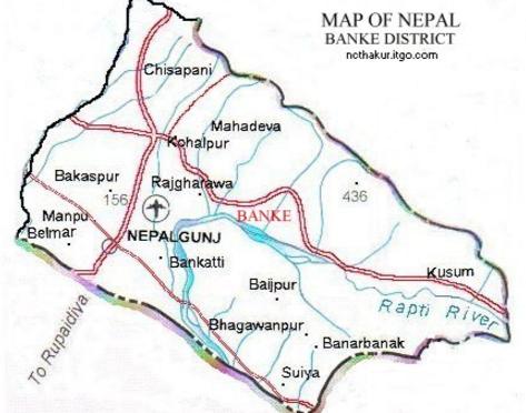बाँकेमा भारत हिँडेका ५४ को उद्धार