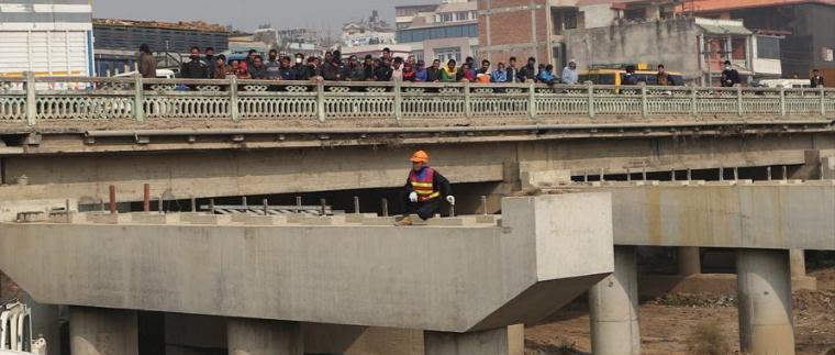 Bridge expansion along Kalanki – Koteshwor stretch near completion