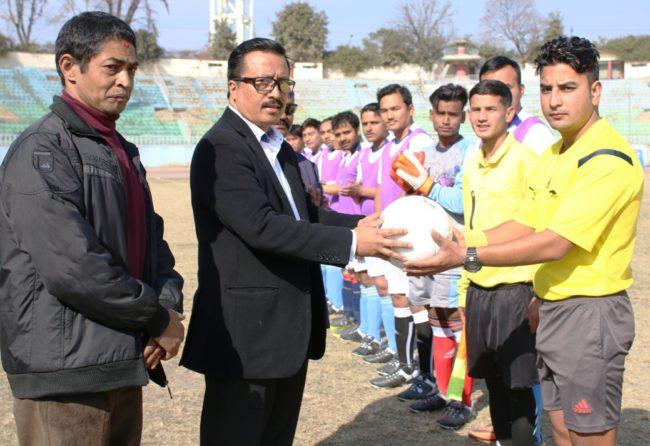 मिडिया कप फुटबल प्रतियोगितामा इमेजको विजयी सुरुआत