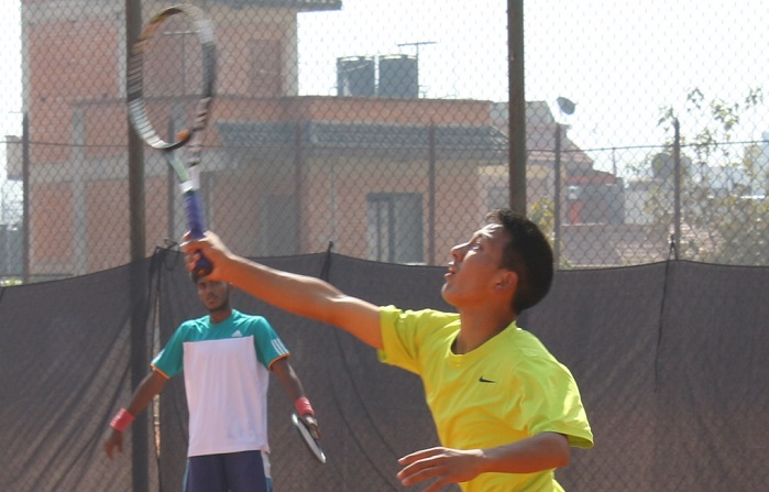 सोमबारदेखि यु–१८ टेनिस च्याम्पियनसिप सर्किट–२ सुरु