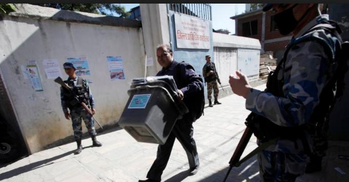 मतदान केन्द्रमा प्रहरीलाई गोली चलाउने अधिकार