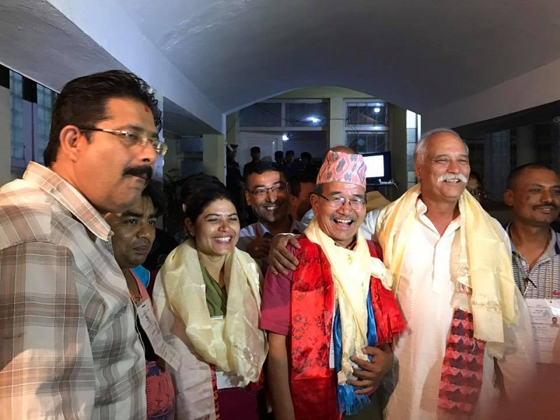 ललितपुर महानगरमा मेयर र उपमेयर सहित प्यानलै काँग्रेसले जित्यो, बधाई !