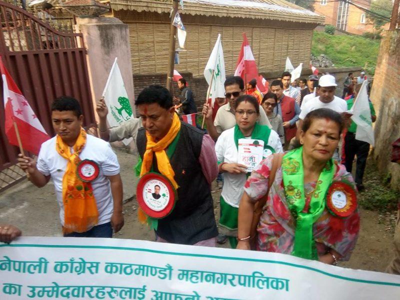 शनिबार बिहानै काठमाण्डौ-१० मा काँग्रेसका केसीको प्यानलै विजयी