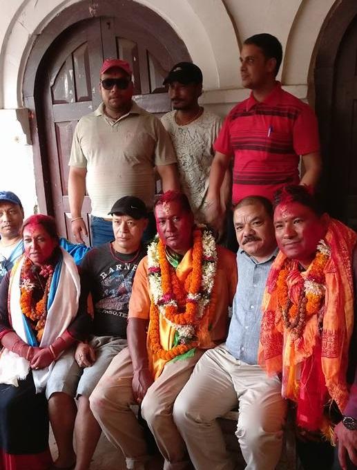 वडा.नं. ८ काठमाण्डौमा काँग्रेसका डंगोल भारी मतसहित प्यानलै विजयी