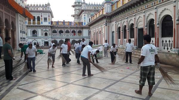 जानकी नवमीको अवसरमा शिवम् को सरसफाई कार्यक्रम
