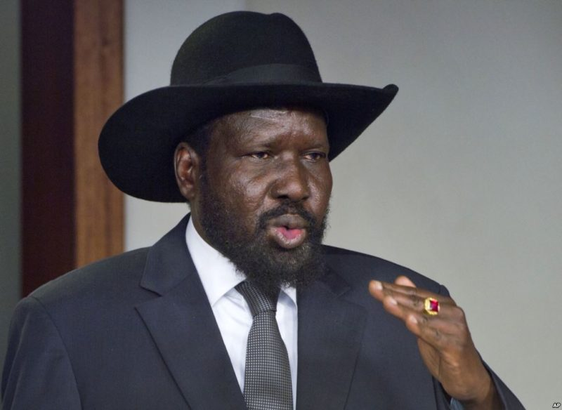 South Sudan president declares unilateral ceasefire