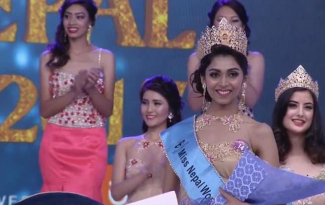 २०१७ को मिस नेपालमा 'निकिता चन्दक'