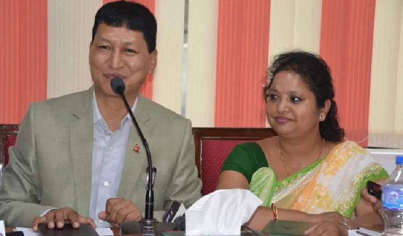 Kathmandu mayor and deputy mayor off to China