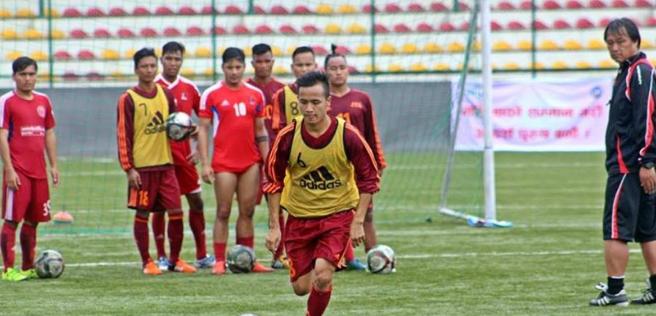 साफ यू–१५ च्याम्पियनसिप फुटबलमा नेपालको विजयी शुरुवात