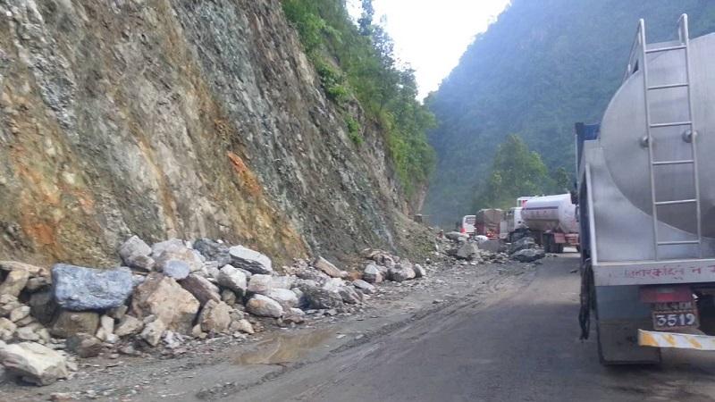 नारायणगढ–मुग्लिन सडकखण्ड सञ्चालनमा