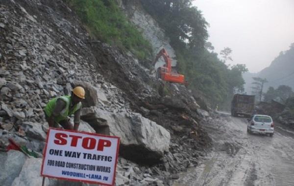 पोखरा–बागलुङ राजमार्ग फराकिलो बनाउने काम तीव्र