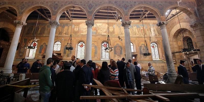 चर्च आक्रमणको आइएसले जिम्मा लियो