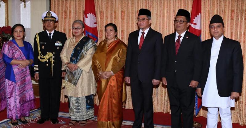 इण्डोनेशियाका राजदूतद्वारा ओहोदाको प्रमाणपत्र पेश