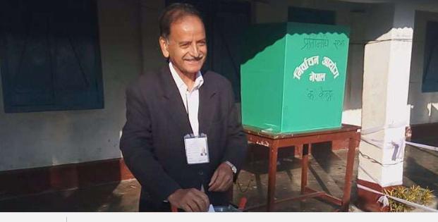 मतदान गरेलगत्तै कृष्ण सिटौलाले सम्झे जनता, दिए यस्तो प्रतिक्रिया