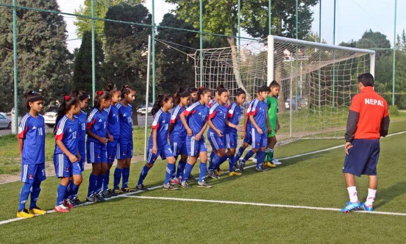 साफ महिला फुटबल–नेपाल भारतसँग पराजित