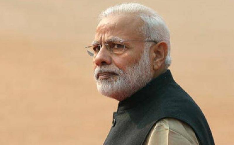 भारतीय प्रधानमन्त्री मोदीको सय करोड ओझेलमा