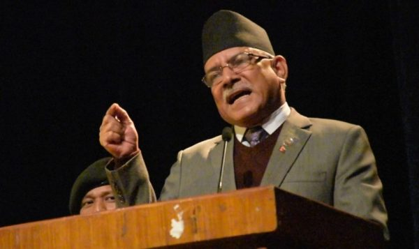 एमाले माओवादी केन्द्रको गुरु होः अध्यक्ष  दाहाल