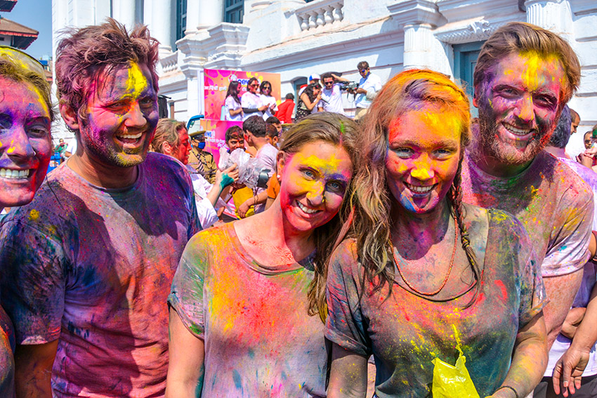 Special security plan for Holi festival, punishment to lola thrower