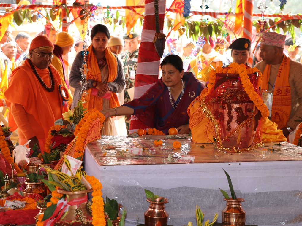 President Bhandari suggests reviewing Govt. investment on education for better quality