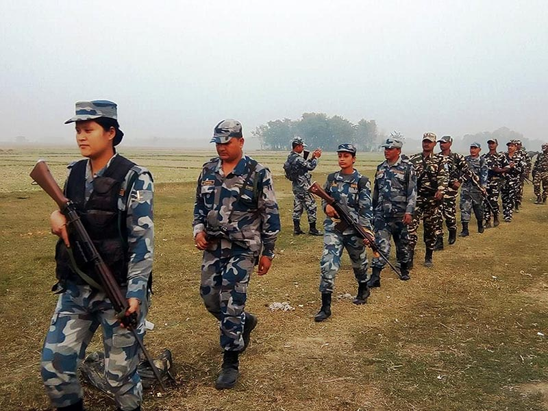 Security check at Gaddachauki border point