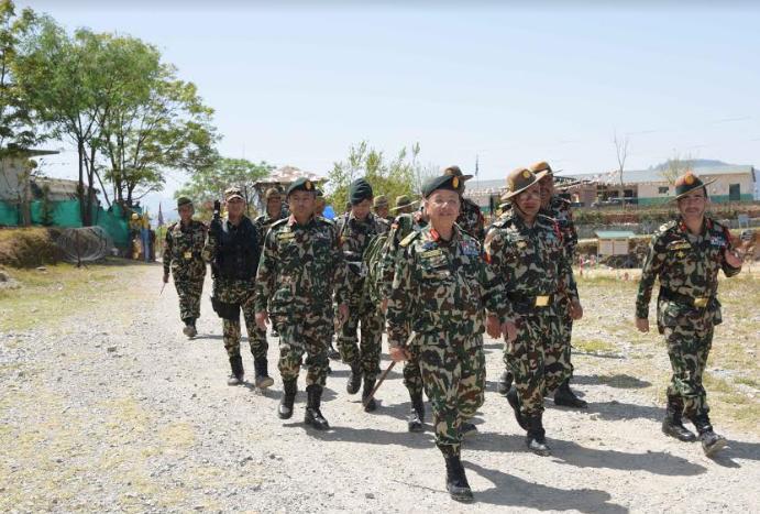 नेपाली सेनालाई ८५ करोड सहित पठायो सरकारले बारापर्सा हावाहुरीपीडितको पुनःनिर्माणमा