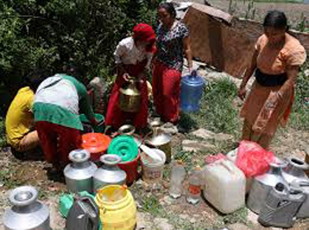 जाजरकोट दलित र जनजाती बस्तीमा खानेपानीको समस्या