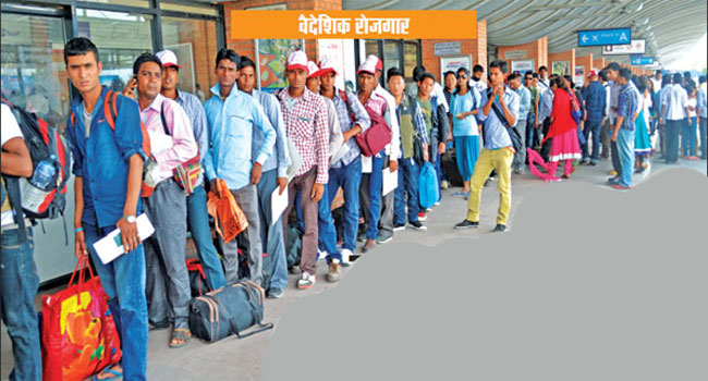 एउटै नगरका ३ हजार युवा विदेश पलायन