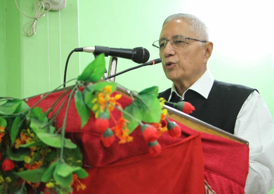 Nc Leader Koirala accuses ruling CPN of totalitarian