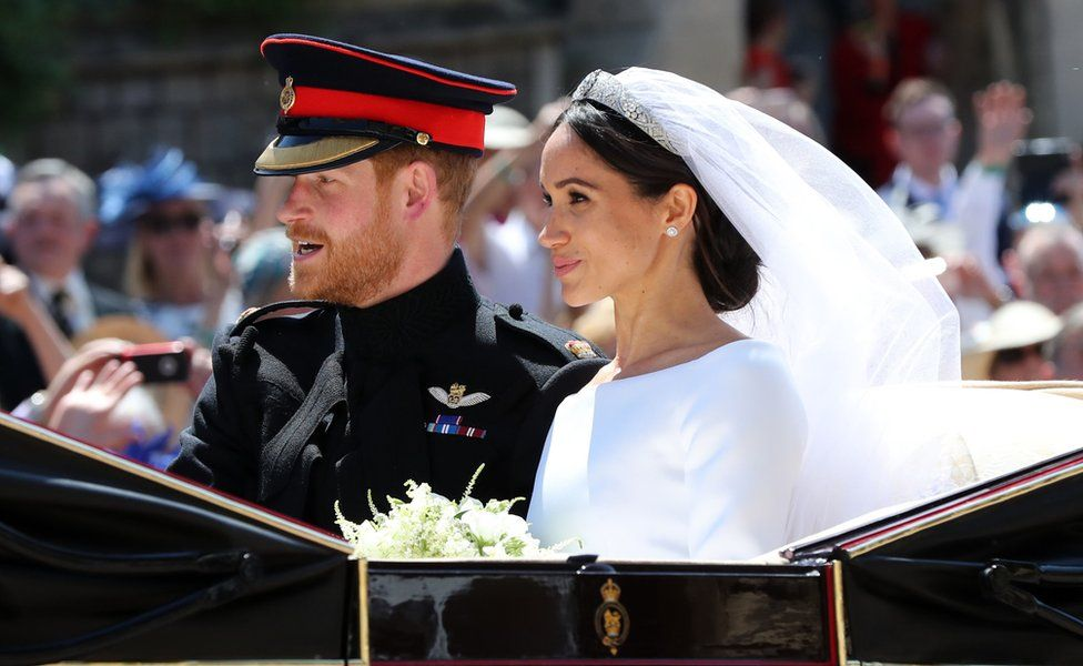 राजकुमार ह्यारी र मार्कलको विवाह सम्पन्न
