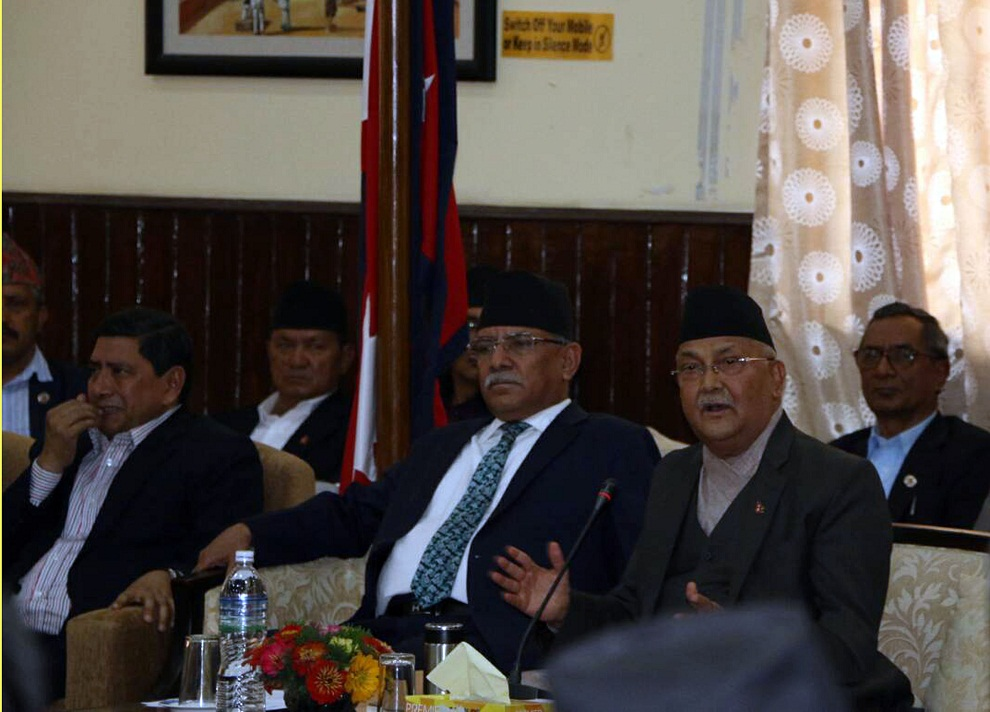 It's established, communists can unite too: PM Oli