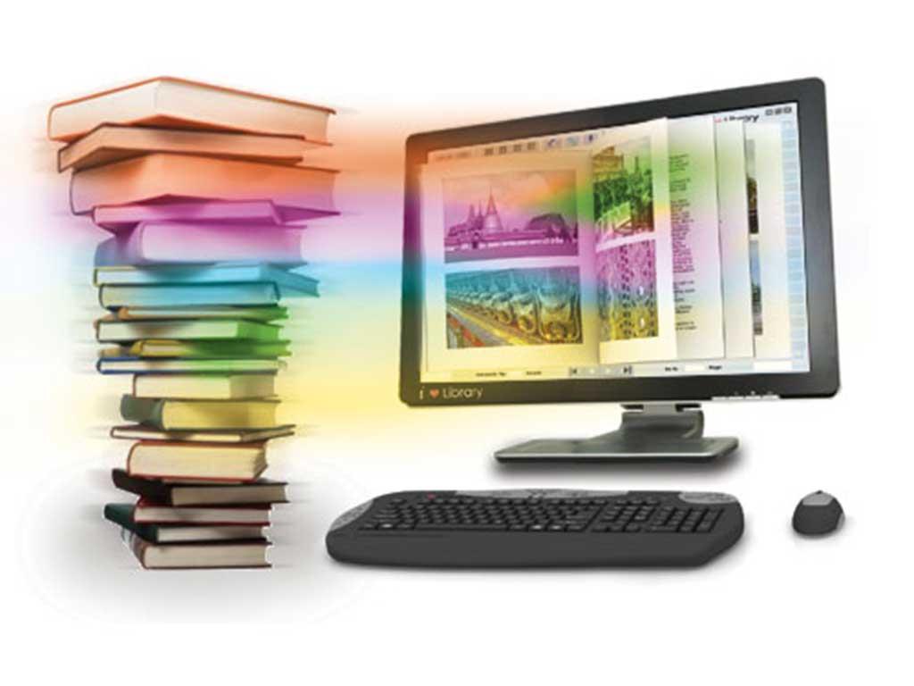 आठ विद्यालयमा विद्युतीय पुस्तकालय जडान