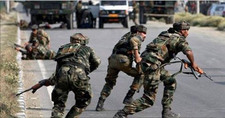 काश्मिर सीमा क्षेत्रमा झडप जारी