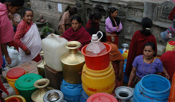 Disruption of water supply affects 200,000 locals