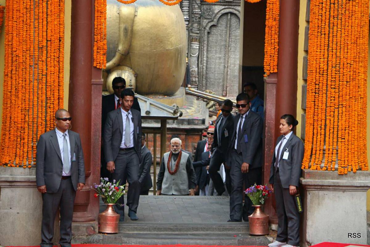 भारतीय प्रधानमन्त्री मोदीको पशुपतिमा सकियो विशेष पूजा
