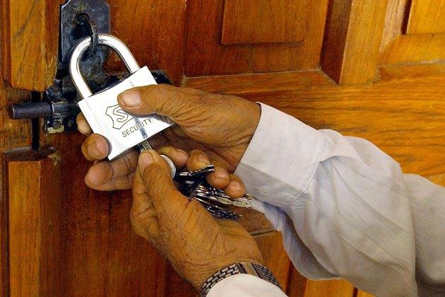 टे«ड युनियनको निर्वाचनमा काङ्ग्रेस निकट कर्मचारीद्वारा अवरोध, अधिकृतको कार्यालयमा  तालाबन्दी