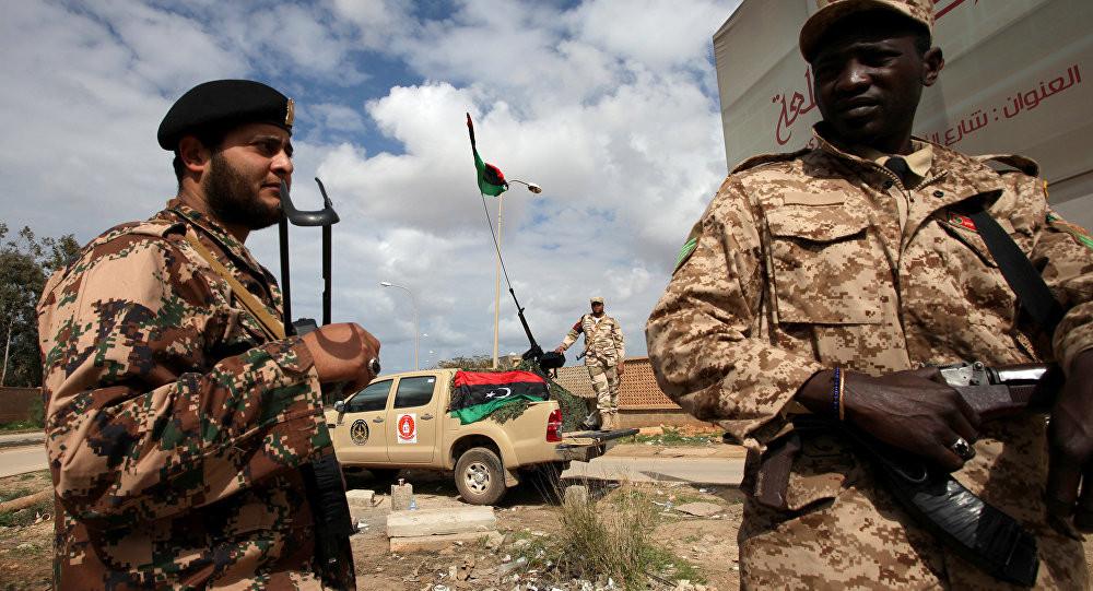 चार जना लिबियाली सैनिकको मृत्यु