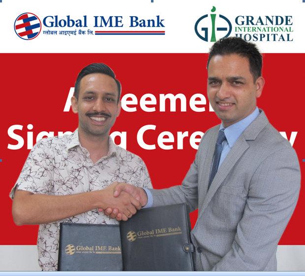 ग्लोबल आइएमई र ग्राण्डीबीच सम्झौता