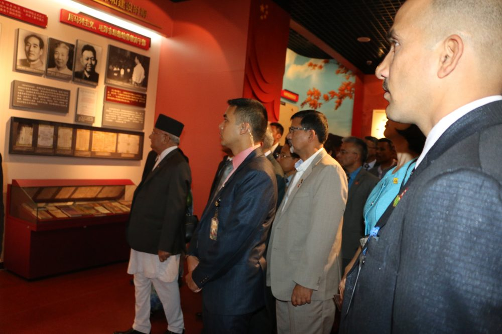 Prime Minister Oli inaugurates Nepal-China Friendly run