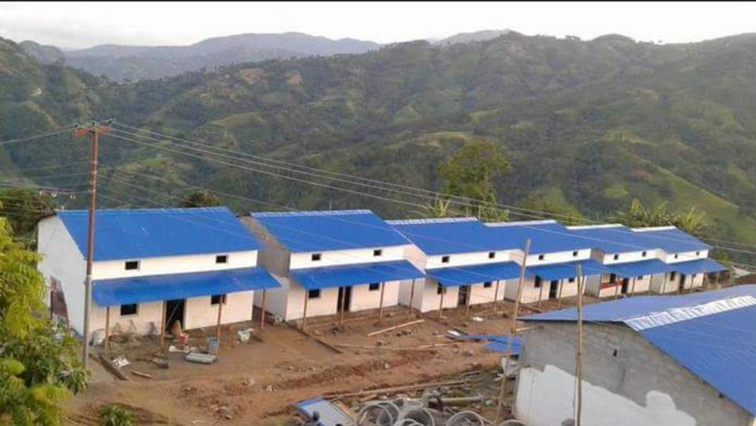 एकीकृत बस्ती निर्माण गरी हस्तान्तरण