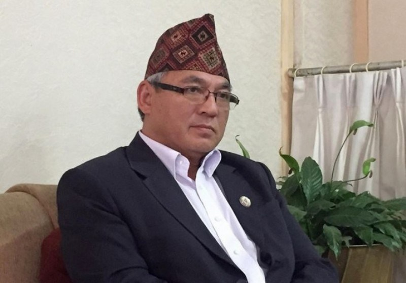 Home Minister Thapa inaugurates first distribution of national identity card