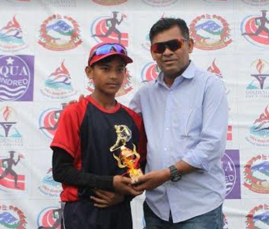 ग्रेट हिमालय क्रिकेट एकेडेमी उपाधी नजिक