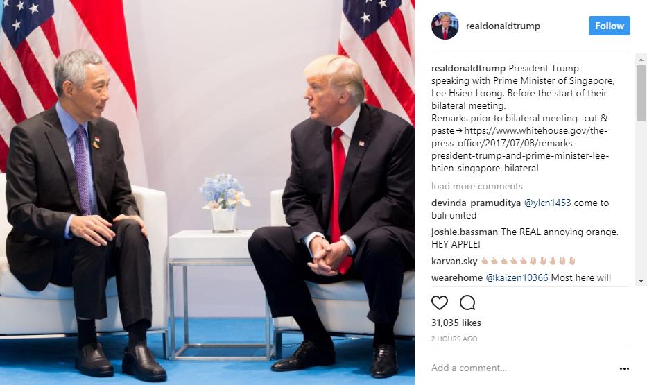 प्रधानमन्त्री लोङ र अमेरिकी राष्ट्रपति भेटवार्ता