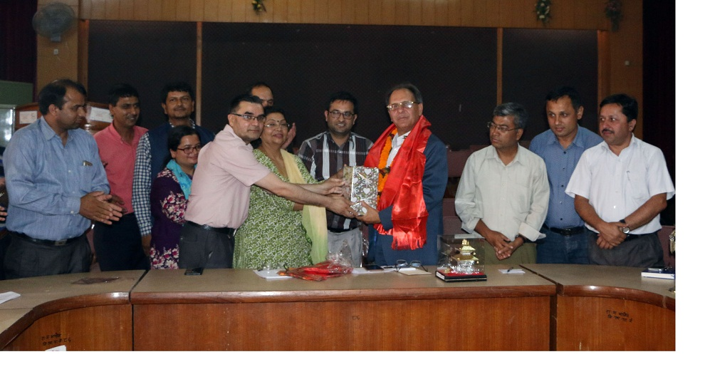 RSS chair Wagle gets farewell