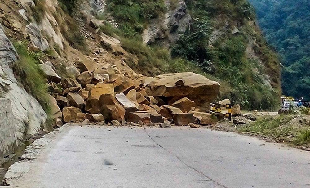 सिद्धार्थ राजमार्ग पुनः अवरुद्ध
