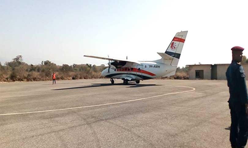 रुम्जाटार विमानस्थलमा नियमित उडान हुने