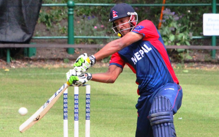 Paras becomes first Nepali to score ODI hundred