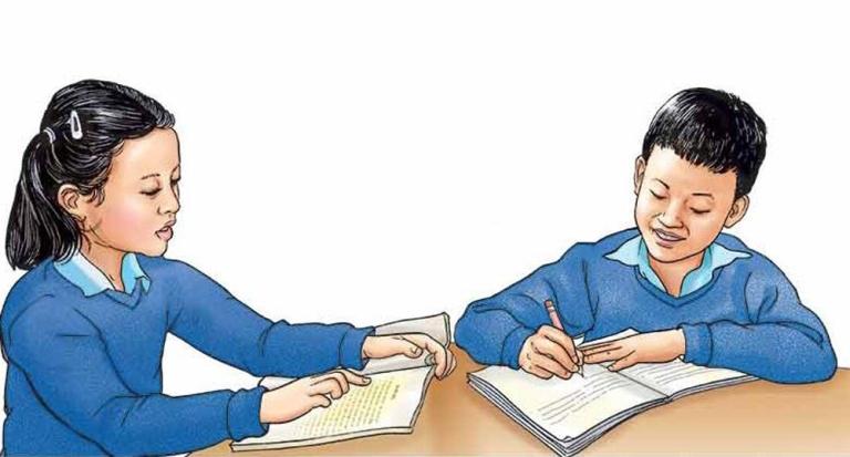 पढाइमा समस्या भोग्दै अपाङ्गता भएका विद्यार्थी